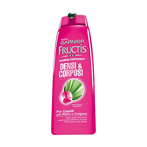 Garnier Fructis Densi & Corposi Shampoo per Capelli Più Pieni e Corposi, 300 ml