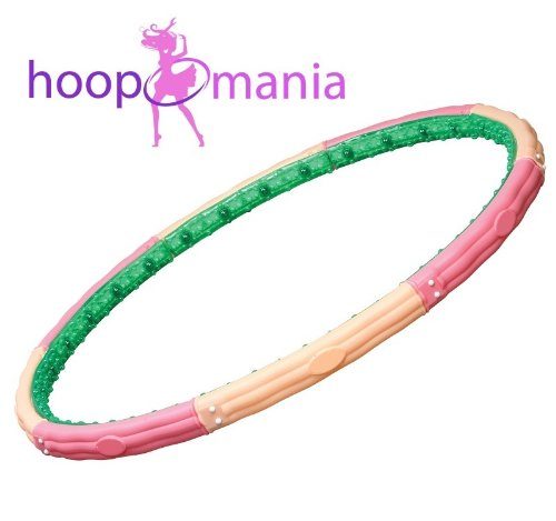 Hoopomania Titan Hoop, Hula Hoop with 32 magnets, 3.1kg