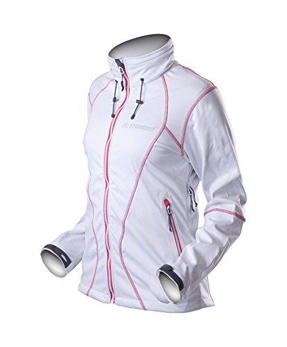 Trimm giacca da donna Gazel, Donna, Jacke Gazel, Bianco/Rosa, M