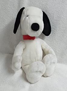 "RARE! Applause Peanuts 15"" PLUSH SNOOPY"