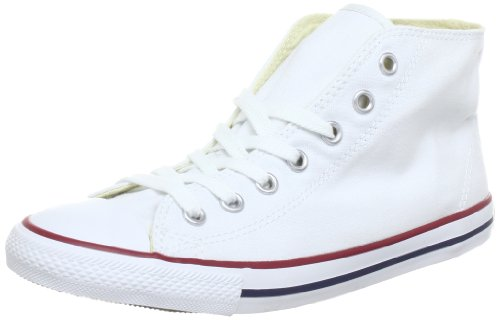 CONVERSE Unisex-Adult Dainty Bas Mid Trainers 289000-52-3 Blanc 4 UK, 37 EU