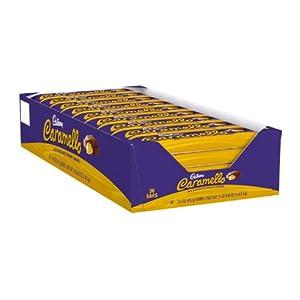 Cadbury Caramello Bar, Milk Chocolate & Creamy Caramel, 1.6-Ounce Bars (Pack of 36)