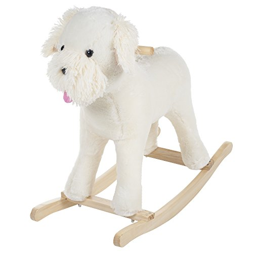 Happy Trails Rocking Sherman Schnoodle Dog - 1