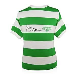 Billy McNeill Signed Lisbon Lions Celtic Shirt