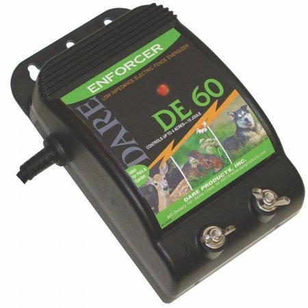 Electric Fence Controller, Color: Black; Size: 10 Mile (Catalog Category: Fencing:Electrical Chargers)