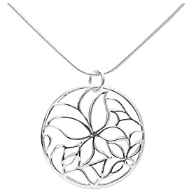 """Sterling Silver Butterfly Design Pendant, 18"""" from amazon.com"""