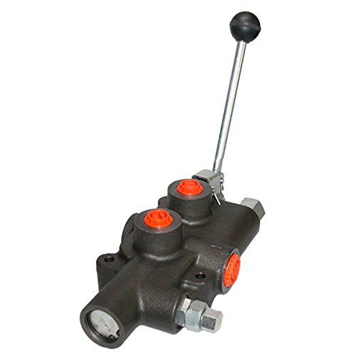 Hydraulik-80L-Holzspalter-Ventil-Handhebel-Handsteuer-Steuerventil-Doppelwirkend-HS13