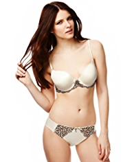 Limited Collection PERKY PROFILE™ Animal Print Padded A-DD Bra