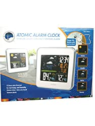 Lacrosse Color Wireless Automic Weather Station, Atomic Alarm Clock.