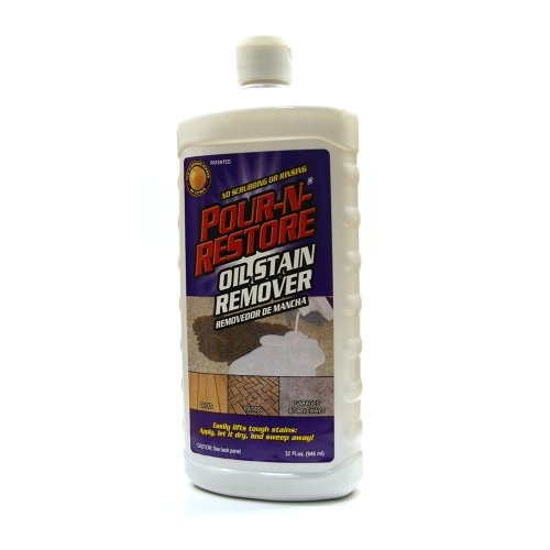 Automotive car care for Garage oil stain remover
