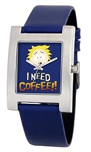 South Park Men's D1523S094 Kuban Collection Tweak Blue Leather Watch