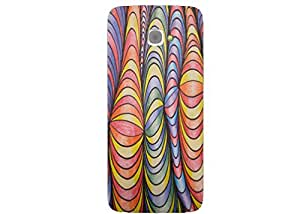 Case Cover Printed Multicolor Hard Back Cover For InFocus M350
