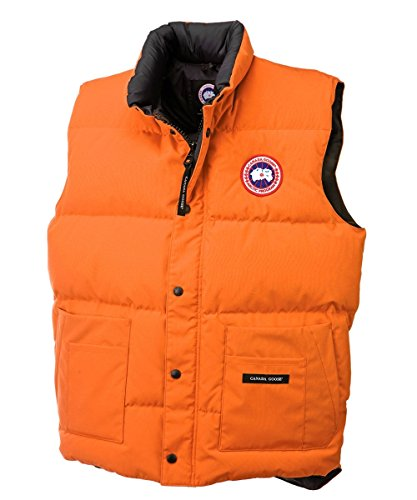 Canada Goose Men's Freestyle Vest Plus Size (Sunset Orange, 3XL) (Xxxl Canada Goose compare prices)