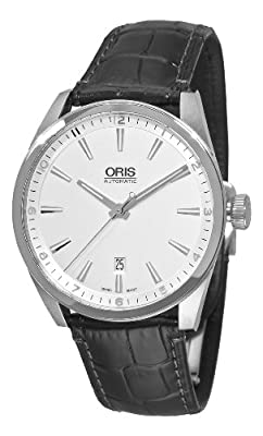 Oris Men's OR733-7642-4051LS Artix Silver Dial Watch