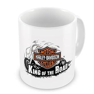 Harley-Davidson Motor Cycles King Of The Road Coffee / Tea Mug