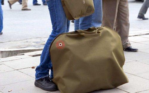 Authentics Kuvert Reisetasche L - olive