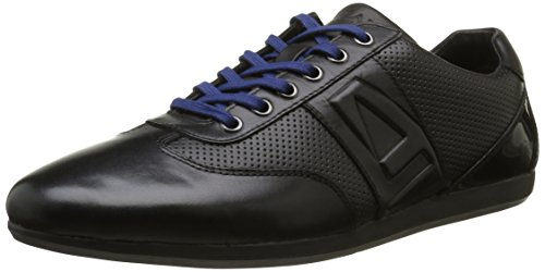 AzzaroParka - Sneaker Uomo , Nero (Noir (Noir 02)), 43