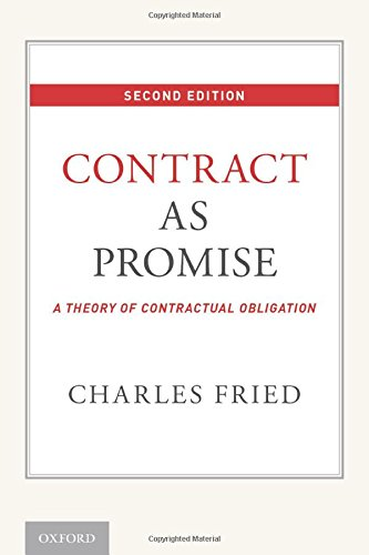 Fried, Contract as Promise