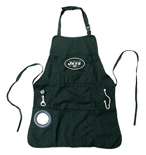 Nfl Men'S Grilling Apron - New York Jets