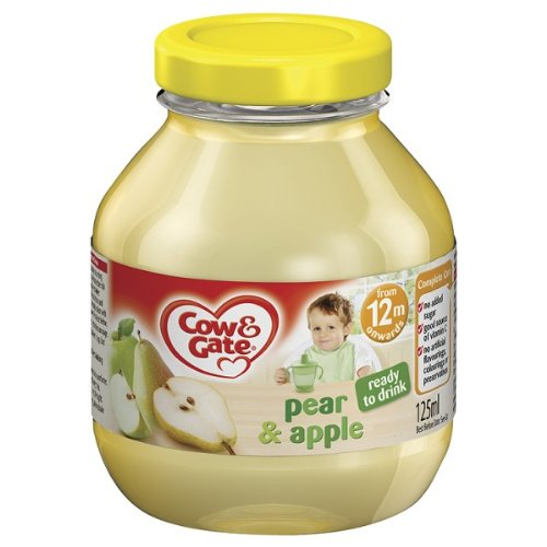 Cow & Gate Apple & Pear Diluted Fruit Juice 6 x 125ml