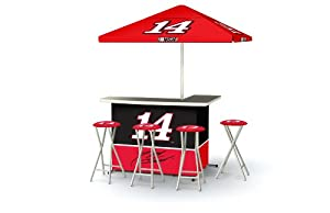 Best of Times NASCAR Patio Bar and Tailgating Center Deluxe Package- Tony Stewart by Best of Times, LLC