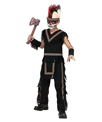 Boys Indian Warrior Halloween Costume