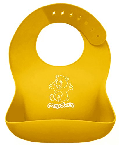 "Babysoft Ibib ® - The ""Iphone-Sensation"" In Silicone Baby Bib World! - Fitting More Growing Babies 3 Mos To Preschoolers Comfortably With Smart Buttons - The Wonder Is In The Numbers: Buy One Get 19 More For Free In Energy $$$Avings - Try Ibib ... Waste N"