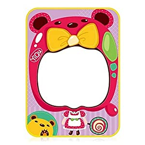 JJE 36*27*0.5cm Children's Duck/Princess Pattern Aquadoodle Educational Novelty Toys(Size S, 1 pen) , Pink