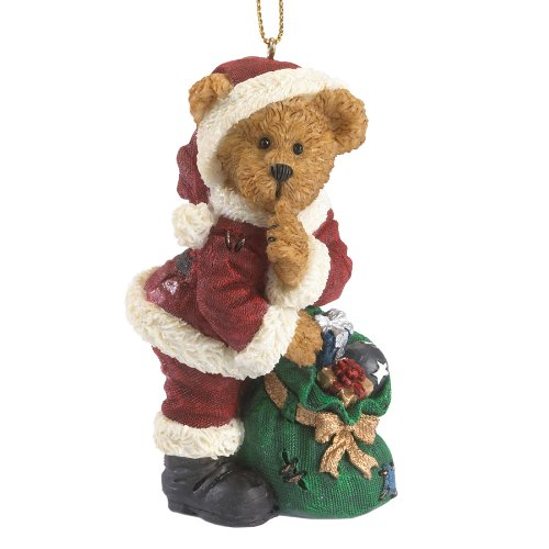 Boyds Resin Ho Traditional Santa Ornament