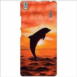 Lenovo A7000 - PA030023IN Back Cover - Silicon Dolphin Designer Cases