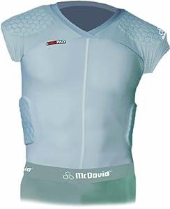 McDavid HexPad 5 Pad Capped Sleeve Body Shirt by McDavid