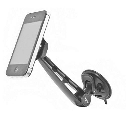 Eclipse Pro Grip Universal Auto Car Cell Phone Holder - Mount on Windshield, Dash, Console - Includes Installation Instructions (Console Phone Holder compare prices)