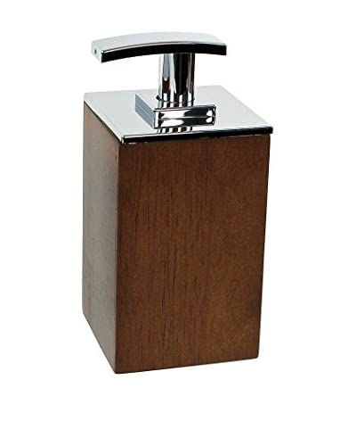 Gedy by Nameek's Cubico Soap Dispenser PA81-31, Brown