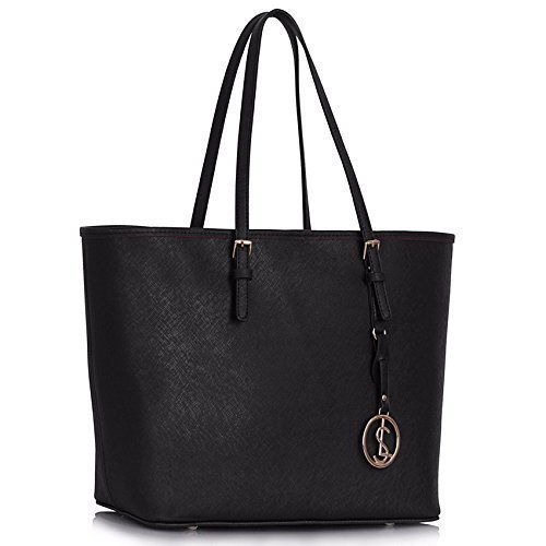 Womens Designer Bags Ladies Large Shopper Bag Faux Leather Shoulder Tote Bag