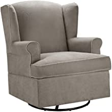 Dorel Asia Swivel Glider, Dark Taupe