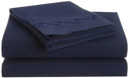 Navy And Grey Bedding 174648 front