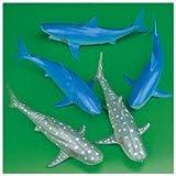 Fun Express Vinyl Sharks Toy (1 Dozen)