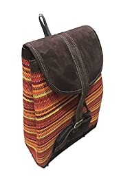 Adventure Multipurpose Backpack, Unique Handmade Fabrics, Set Yourself Apart With This Handcrafted Backpack