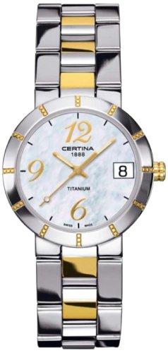 Certina Ladies'Watch XS Analogue Quartz Stainless Steel C009,210,55,112,00