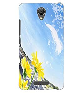 ColourCraft Lovely Scenery Design Back Case Cover for XIAOMI REDMI NOTE 2