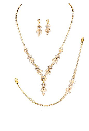 rosemarie-collections-womens-3-piece-bridal-jewelry-set-floral-rhinestone-gold-tone