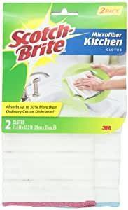 Scotch-Brite Kitchen Cloth 9032-2, 2-Count (Pack of 4)