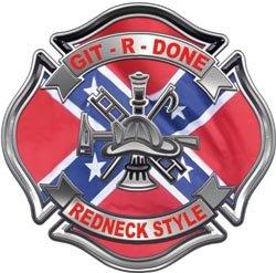 Git R Done Redneck Style Maltese Cross - 16