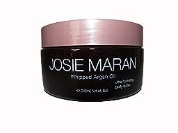 Josie Maran Whipped Argan Oil Ultra Hydrating Body Butter Vanilla Amber 8oz Unboxed