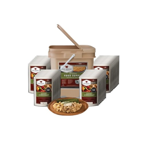 Long Term Food Storage Solution - Wise Company 120 Serving Entree Only Grab and Go... by Wise Company