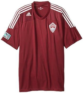 MLS Colorado Rapids Replica Home Jersey by adidas