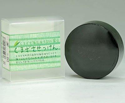 〔九州サンクロン〕クマザサ石鹸 100g