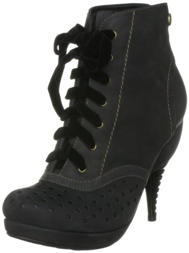 Feud London Women's Beckon Black Ankle Boot 203280101 7 UK