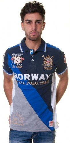 Geographical Norway -  Polo  - Uomo blu navy