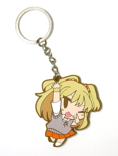 The Idolmaster: Cinderella Girls - Rika Jougasaki R Tsumamare Key Ring - 1